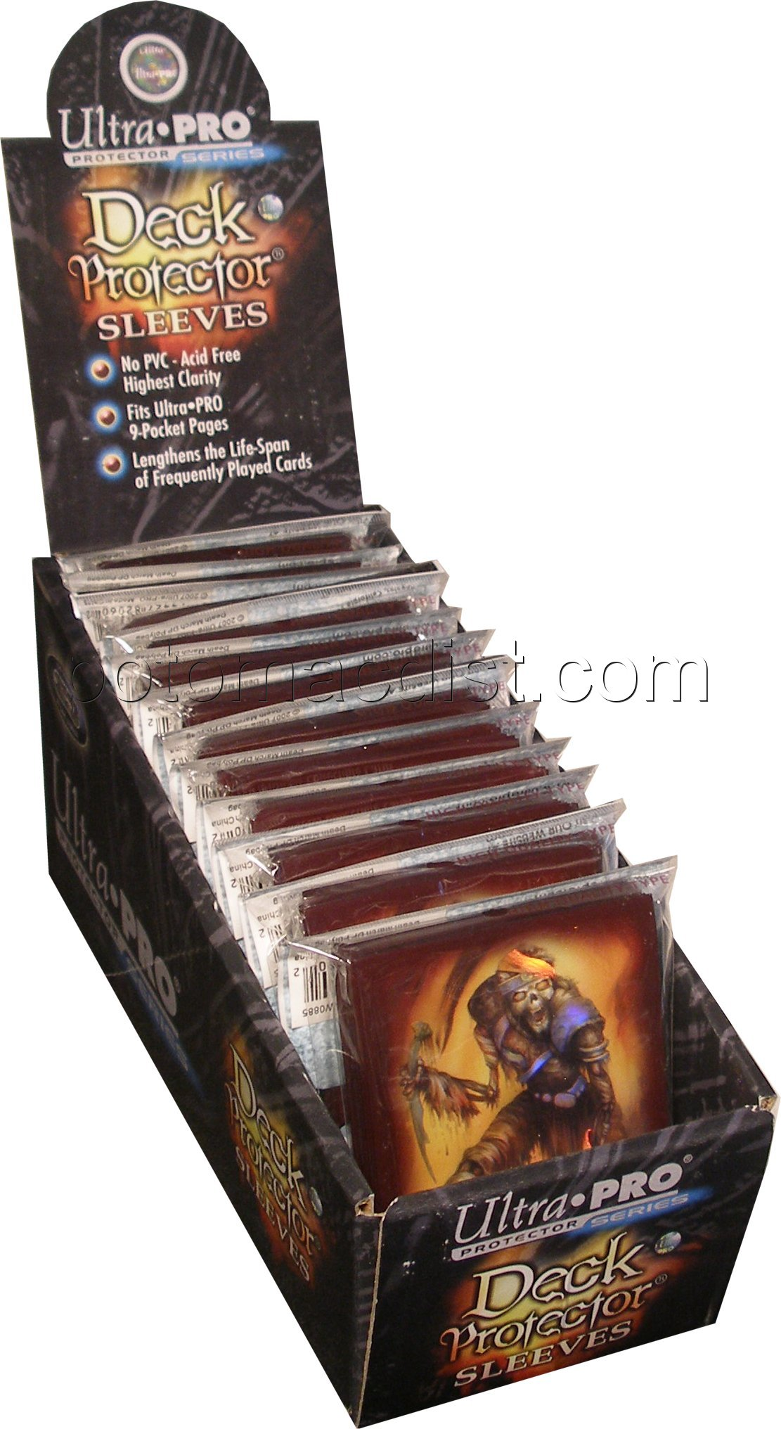 Ultra Pro Standard Size Artists' Series Deck Protectors Box - Monte Moore [Death March]