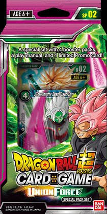 Dragon Ball Super Trading Card Game Union Force (Series 2) Special Pack Box