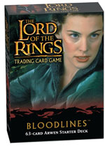 Lord of the Rings Trading Card Game: Bloodlines Starter Deck Box