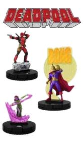 HeroClix: Marvel Deadpool Booster Case [20 boosters]