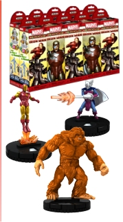 HeroClix: Marvel The Invincible Iron Man Booster Case [20 boosters]