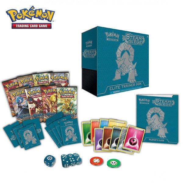 Pokemon: XY Steam Siege Elite Trainer Box $33