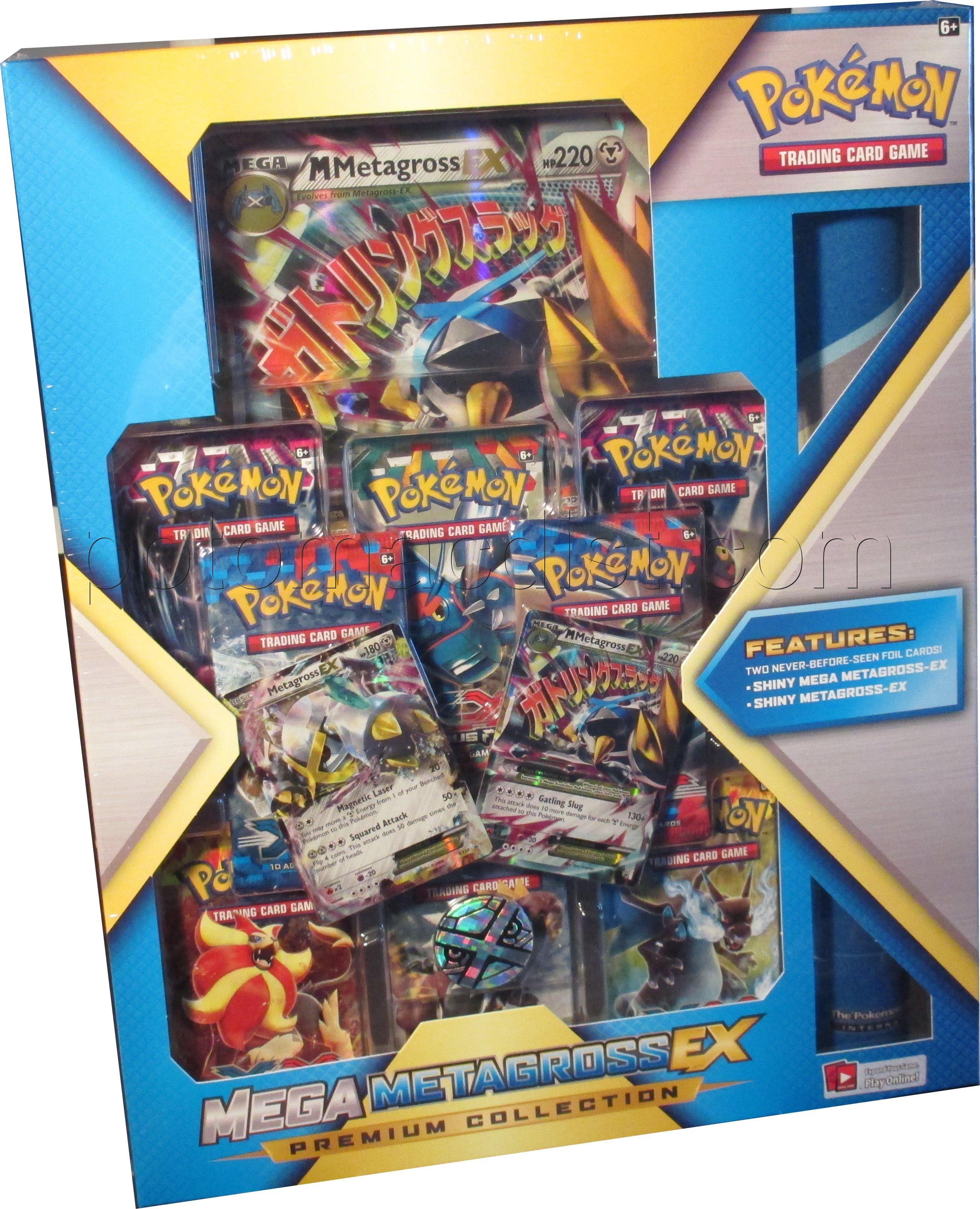 Pokemon Mega Metagross Card Pokemon Mega Metagross Ex Premium Collection