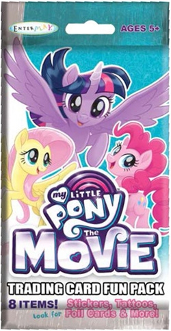 My Little Pony: The Movie (2017) Fun Packs Trading Cards Box