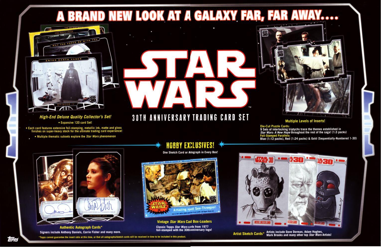 Star wars th anniversary hobby box potomac distribution