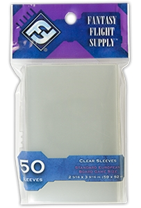 Fantasy Flight Board Game Sleeves - Standard European