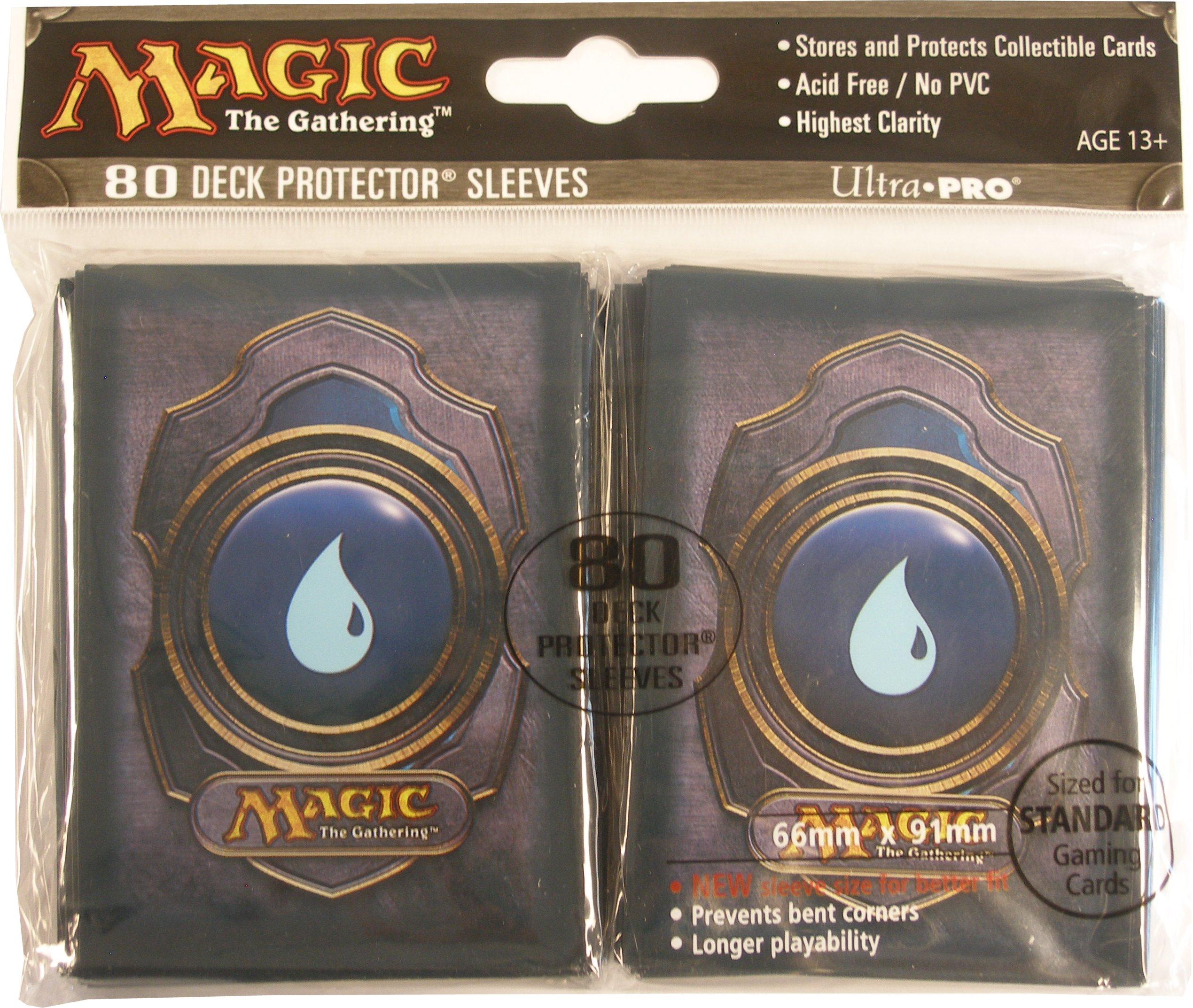 Ultra pro standard size deck protectors blue magic mana symbol ultra pro standard size deck protectors blue magic mana symbol version 3 5 packs biocorpaavc