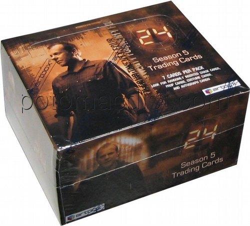 24 season 5 trading cards