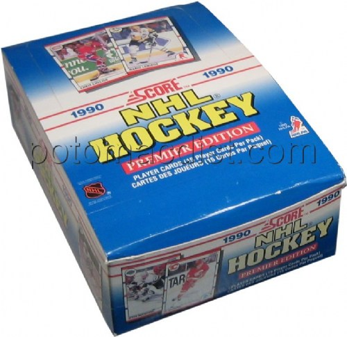 90/91 1990/1991 Score Hockey Cards Box [American] Images