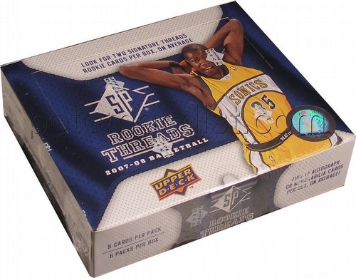 07/08 2007/2008 Upper Deck SP Rookie Threads Basketball Cards Box [Hobby]