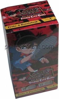 Case Closed TCG: Crime & Punishment Booster Box