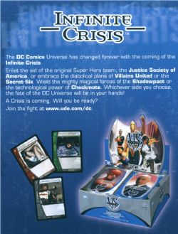 DC VS: Infinite Crisis Booster Box