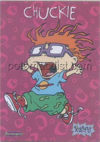 Rugrats Trading Cards 4-Card Promo Set [Tempo]