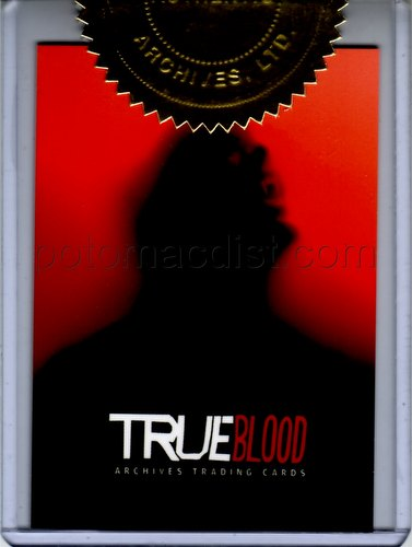 True Blood Archives Trading Cards Case Topper Card [#CT1]