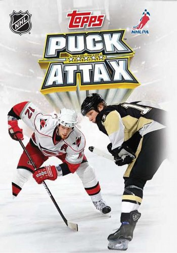 09 2009 Topps Puck Attax Hockey Card Booster Box Case [12 boxes]