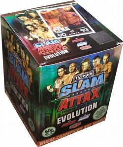 WWE Slam Attax: Evolution Booster Box [UK version]
