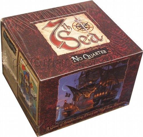 7th Sea Collectible Card Game [CCG]: No Quarter Booster