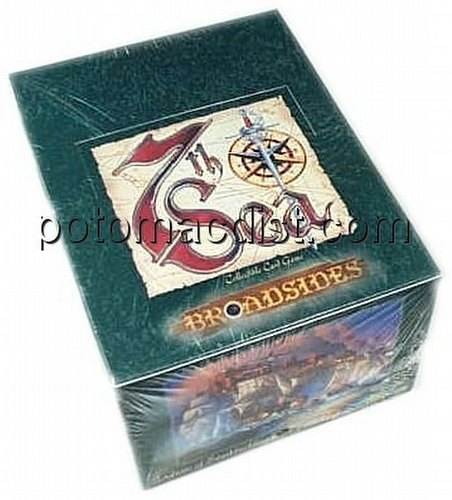 7th Sea Collectible Card Game [CCG]: Broadsides Starter Deck Box