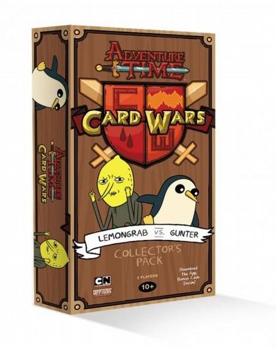 Adventure Time Card Wars: Lemongrab Vs. Gunter Collector