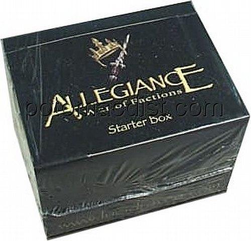 Allegiance: War of Factions Starter Deck Box