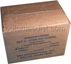 Anachronism: Brian Boru Vs. Peter I the Great Series 4 Starter Game Box [4 decks]