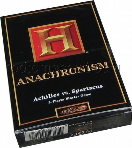 Anachronism: Achilles Vs. Spartacus Series 1 Starter Deck