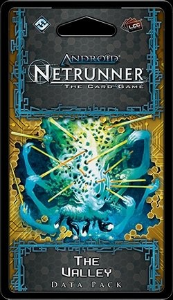 Android: Netrunner SanSan Cycle - The Valley Data Pack Box [6 packs]