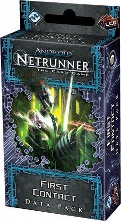 Android: Netrunner Lunar Cycle - First Contact Data Pack Box [6 packs]