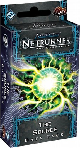 Android: Netrunner Lunar Cycle - The Source Data Pack Box [6 packs]