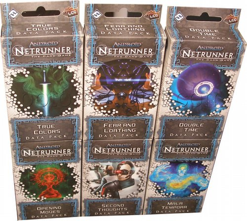 Android: Netrunner Spin Cycle Data Pack Set [6 packs]