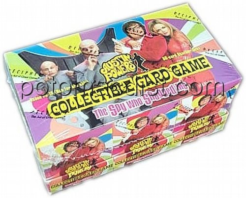 Austin Powers Collectible Card Game [CCG]: Starter Deck Box