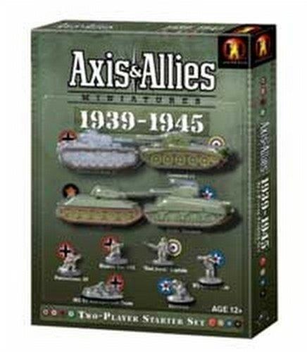 Axis & Allies Miniatures [TMG]: 1939-1945 Starter Case [12]