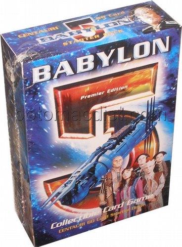 Babylon 5 Collectible Card Game [CCG]: Premier Starter Deck [Centauri]