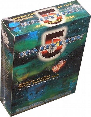 Babylon 5 CCG: Great War Starter Deck [Opposition Factions]