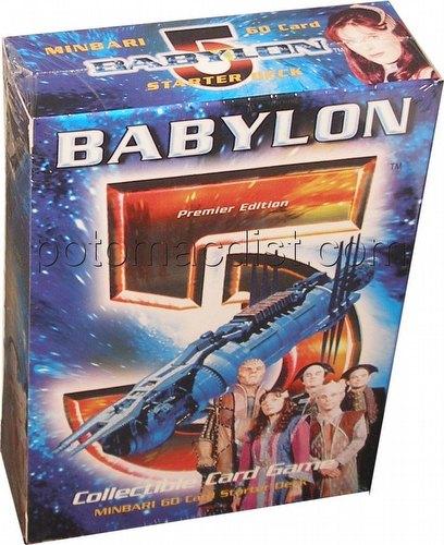 Babylon 5 Collectible Card Game [CCG]: Premier Starter Deck [Minbari]