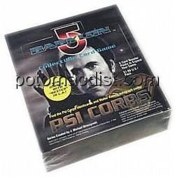 Babylon 5 Collectible Card Game [CCG]: Psi Corps Booster Box