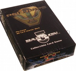 Babylon 5 Collectible Card Game [CCG]: Psi Corps Starter Deck