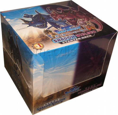 Blue Dragon Role Playing Card Game: Shadow Wielder Starter Deck Box