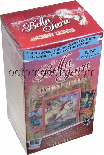 Bella Sara Trading Card Game [TCG]: Ancient Lights Value Box