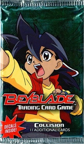 Beyblade Trading Card Game [TCG]: Collision Booster Pack