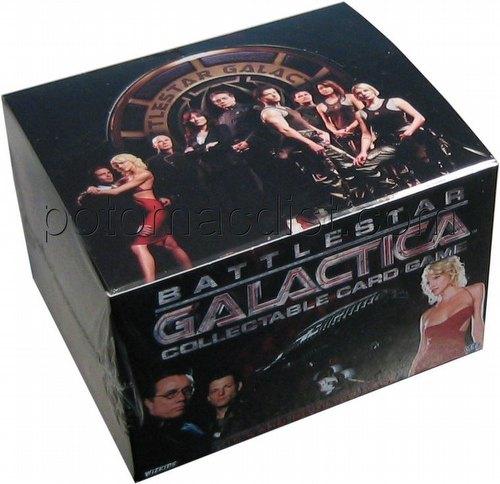 Battlestar Galactica Collectible Card Game [CCG]: Booster Box