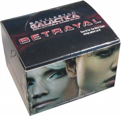 Battlestar Galactica Collectible Card Game [CCG]: Betrayal Booster Box
