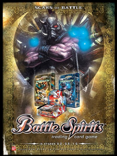 Battle Spirits Trading Card Game [TCG]: Scars of Battle Booster Box Case [6 boxes]