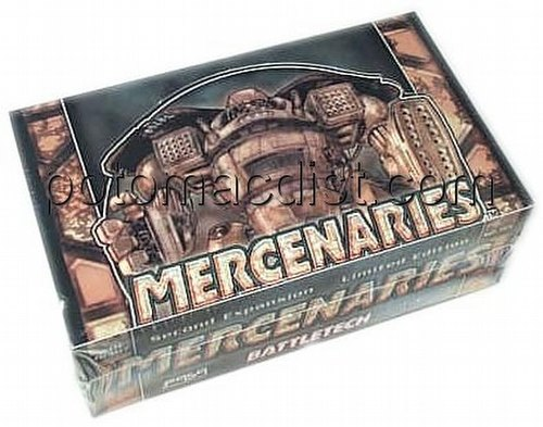 Battletech Trading Card Game [TCG]: Mercenaries Booster Box