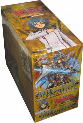 Cardfight Vanguard: Divine Judgment of the Bluish Flame Trial Deck Starter Box