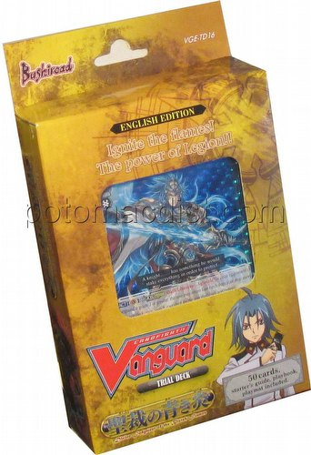 Cardfight Vanguard: Divine Judgment of the Bluish Flame Trial Deck
