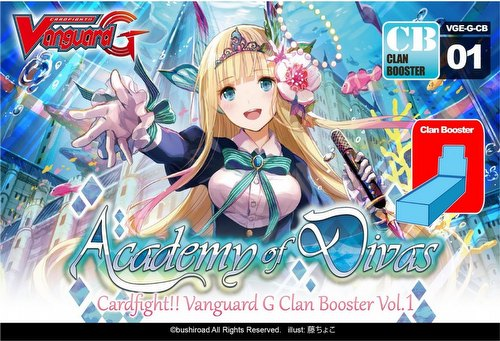 Cardfight Vanguard: Academy of Divas Booster Case [VGE-G-CB01/24 boxes]