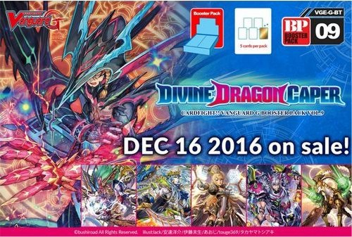 Cardfight Vanguard: Divine Dragon Caper Booster Box [VGE-G-BT09]