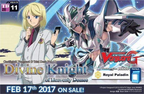 Cardfight Vanguard: Divine Knight of Heavenly Decree Trial Deck Starter Box [VGE-G-TD11]