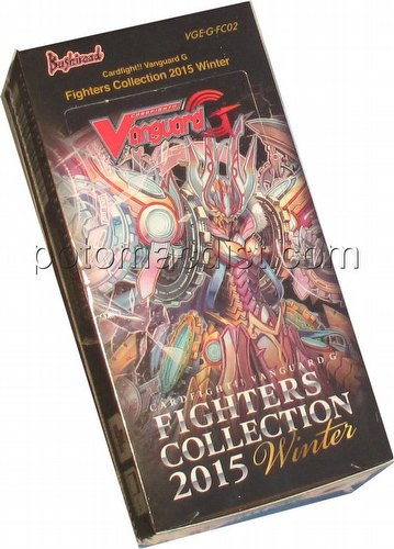 Cardfight Vanguard: Fighters Collection 2015 Winter Box [VGE-G-FC02]